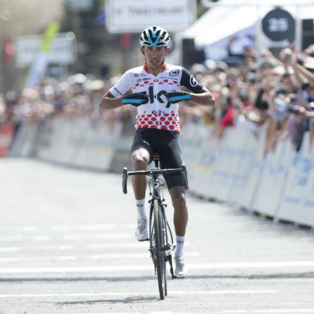 California stage 6: Bernal solos to stage win and overall lead 2