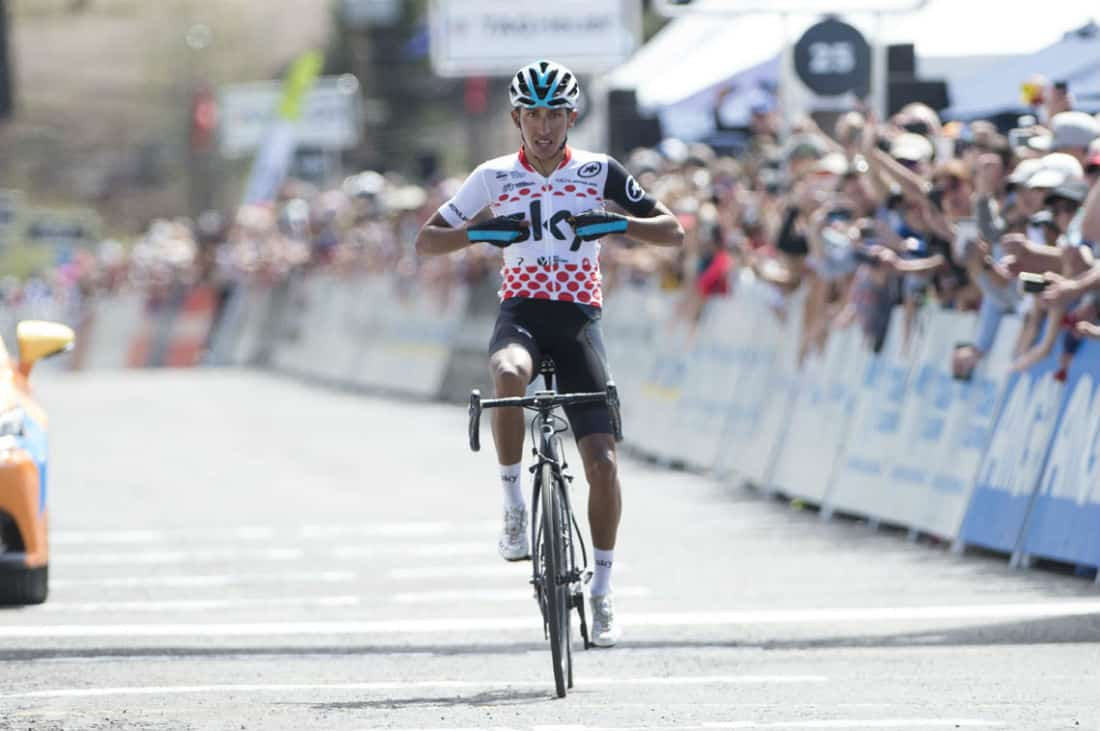 California stage 6: Bernal solos to stage win and overall lead 1