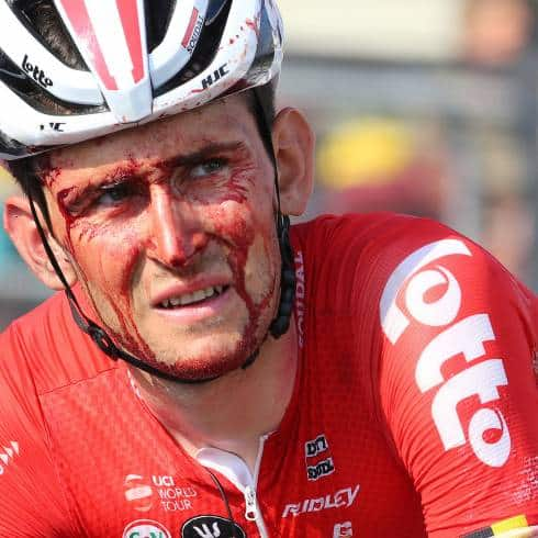 Tour de France: Domont out, Benoot bloodied in stage 4 crash 1