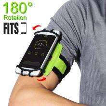 180 Degree Rotation Smartphone Armband Dock