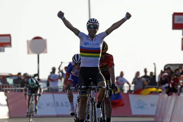 Alejandro Valverde win UAE Tour 2019 stage 3